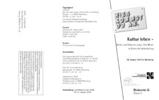 thumbnail of Flyer Kultur leben 2019