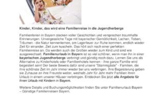 thumbnail of Günstigen Familienurlaub in Bayern buchen
